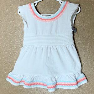 Cat & Jack toddler girl white dress